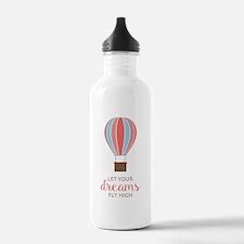 Let Dreams Fly Water Bottle