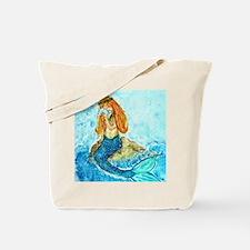 The Mermaid Maiden Tote Bag