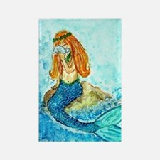 The Mermaid Maiden Rectangle Magnet