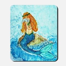 The Mermaid Maiden Mousepad