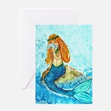 The Mermaid Maiden Greeting Card