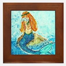 The Mermaid Maiden Framed Tile
