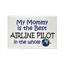 Best Airline Pilot In The World (Mommy) Rectangle
