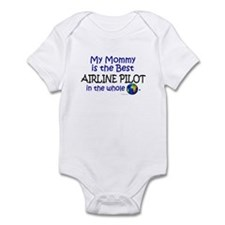 Best Airline Pilot In The World (Mommy) Infant Bod