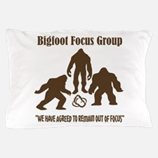 Big Foot Focus Group Pillow Case