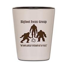 Big Foot Focus Group Shot Glass
