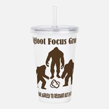 Big Foot Focus Group Acrylic Double-wall Tumbler