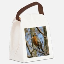 Robin Canvas Lunch Bag