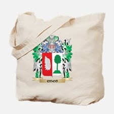 Cisco Coat of Arms - Family Crest Tote Bag