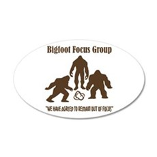 Big Foot Focus Group Wall Sticker