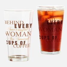 Woman Coffee Humor Drinking Glass