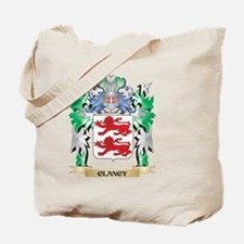 Clancy Coat of Arms - Family Crest Tote Bag
