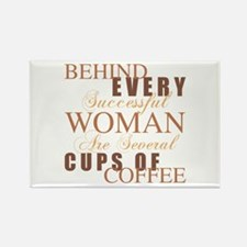 Woman Coffee Humor Magnets