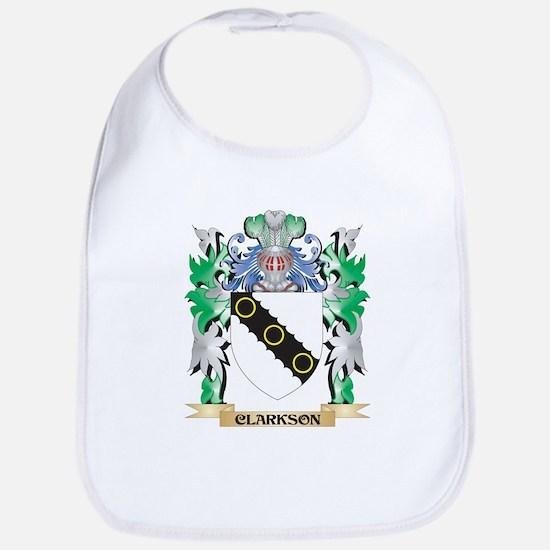 Clarkson- Coat of Arms - Family Crest Bib