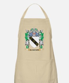 Clarkson- Coat of Arms - Family Crest Apron