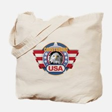 Cute Tx flag Tote Bag