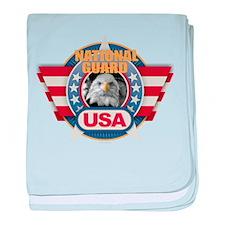 USA National Guard Design baby blanket