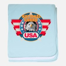 USA National Guard Design baby blanket