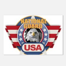 USA National Guard Design Postcards (Package of 8)
