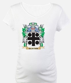 Clayton Coat of Arms - Family Cr Shirt