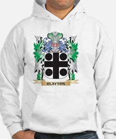 Clayton Coat of Arms - Family Cr Hoodie
