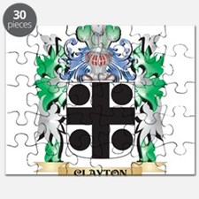 Clayton Coat of Arms - Family Crest Puzzle