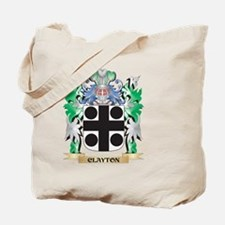 Clayton Coat of Arms - Family Crest Tote Bag