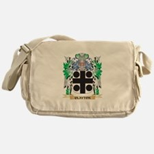 Clayton Coat of Arms - Family Crest Messenger Bag