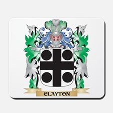 Clayton Coat of Arms - Family Crest Mousepad
