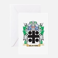 Clayton Coat of Arms - Family Crest Greeting Cards