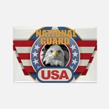 USA National Guard Design Magnets