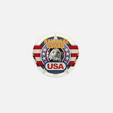 USA National Guard Design Mini Button