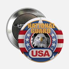 "USA National Guard Design 2.25"" Button (100 pack)"