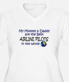 Best Airline Pilots In The World T-Shirt