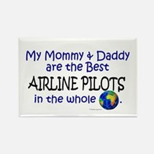 Best Airline Pilots In The World Rectangle Magnet