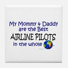 Best Airline Pilots In The World Tile Coaster