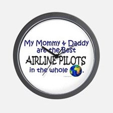 Best Airline Pilots In The World Wall Clock