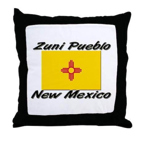 Zuni Pueblo New Mexico Throw Pillow