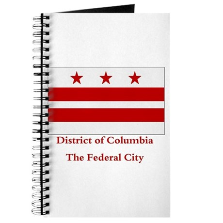 District of Columbia Flag Journal