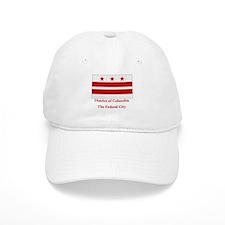 District of Columbia Flag Baseball Cap