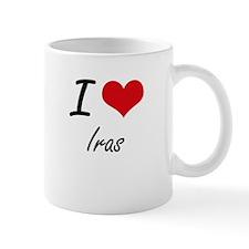 I Love Iras Mugs