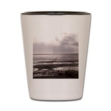 Low Tide In The Storm Shot Glass