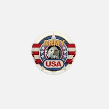 USA Army Design Mini Button