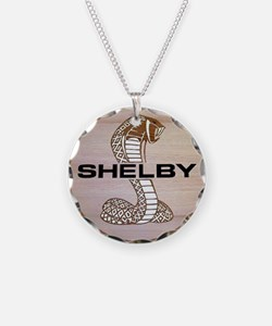 Shelby Cobra Emblem Necklace Circle Charm