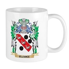 Clerke Coat of Arms - Family Crest Mugs