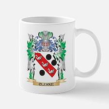 Clerke Coat of Arms - Family Crest Mugs