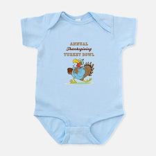 ANNUAL TURKEY BOWL Infant Bodysuit