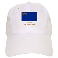 Nevada State Flag Baseball Cap