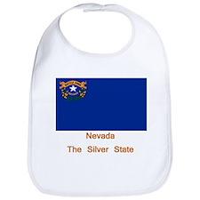 Nevada State Flag Bib
