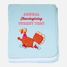 ANNUAL TURKEY TROT baby blanket